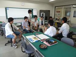 在学生と高校生の交流会