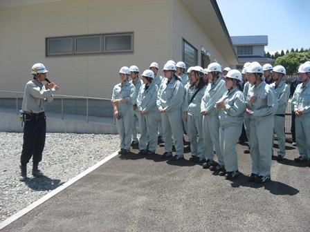 栃内第2病院改築工事 現場代理人からの説明