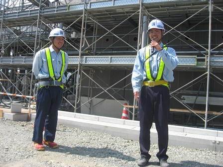 通年型スケートリンク建設工事 現場監督からの言葉(卒業生)