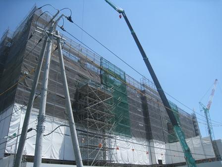 栃内第2病院改築工事 外部
