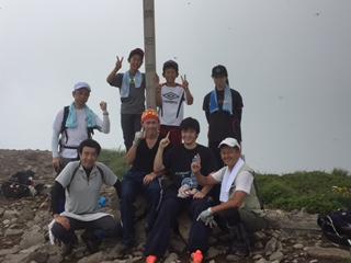 全員無事に登頂に成功しました。五輪選手の活躍を期待しております。