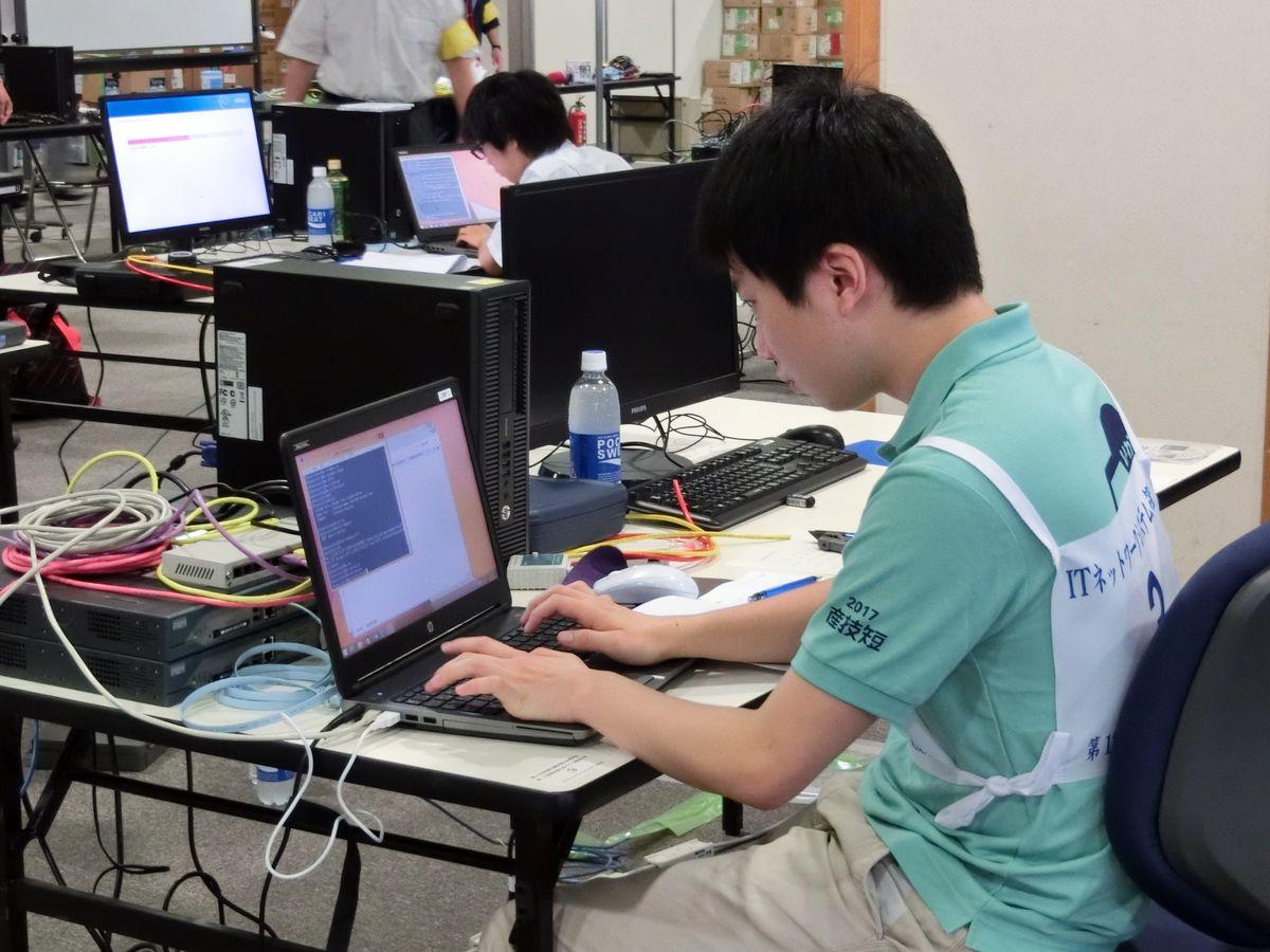 ITネットワークシステム管理職種川村選手