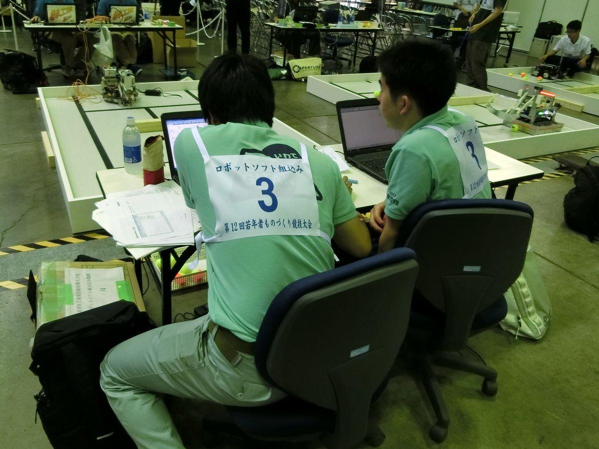 ロボットソフト組込み職種遠藤選手・佐藤選手