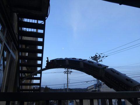 銀河鉄道のオブジェ