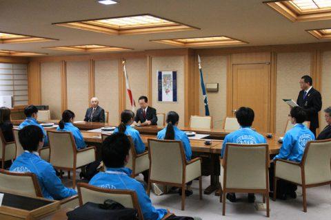 岩手県知事表敬訪問