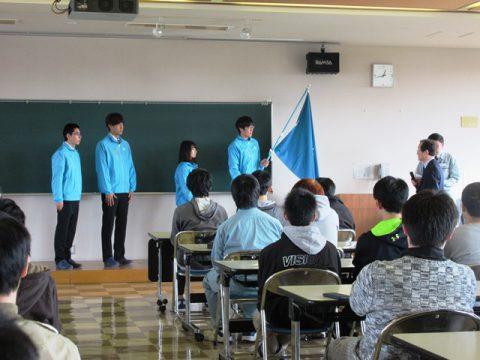 技能五輪全国大会水沢キャンパス壮行式2