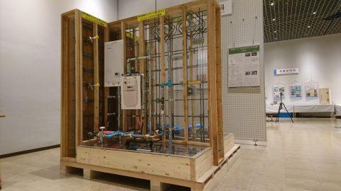 建築設備科「壁式鉄筋コンクリート造におけるスケルトンモデルの製作」