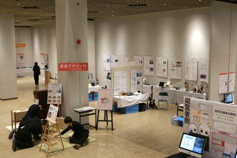 電子技術科の展示