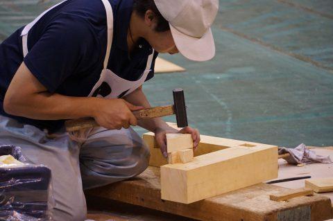 木造建築科2年の部