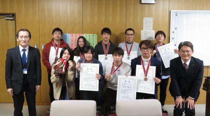 岩手県若年者技能競技会に参加しました