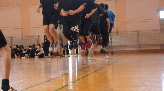 球技大会を開催しました。